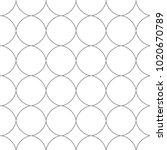 seamless ornamental vector... | Shutterstock .eps vector #1020670789