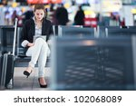 Young Female Passenger At The...