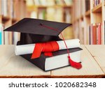 college concept of education | Shutterstock . vector #1020682348