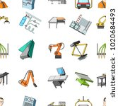 technical progress and other... | Shutterstock . vector #1020684493