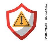 antivirus shield icon image  | Shutterstock .eps vector #1020685369