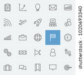 commerce icons set with...