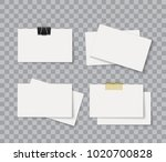 blank corporate identity...   Shutterstock .eps vector #1020700828