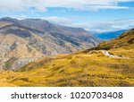 an aerial view of a scenic...   Shutterstock . vector #1020703408