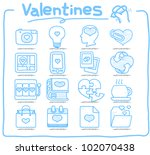 pure series   hand drawn... | Shutterstock .eps vector #102070438