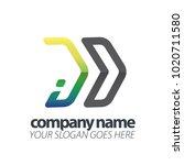 initial letter speed logo | Shutterstock .eps vector #1020711580