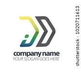 initial letter speed logo   Shutterstock .eps vector #1020711613