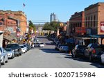 fort worth  texas   united... | Shutterstock . vector #1020715984