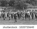 detroit   august 10  1979 ... | Shutterstock . vector #1020720640
