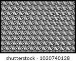 circle lines pattern overlap... | Shutterstock .eps vector #1020740128