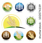 food labels collection for... | Shutterstock .eps vector #102074239