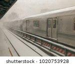 brooklyn  new york   january 4  ... | Shutterstock . vector #1020753928