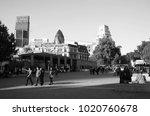 london england  oct 12  ...   Shutterstock . vector #1020760678