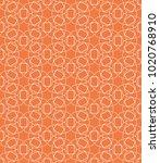 seamless geometric line pattern ... | Shutterstock .eps vector #1020768910