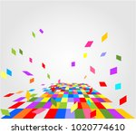 abstract colorful background... | Shutterstock .eps vector #1020774610