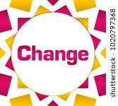change text written over pink... | Shutterstock . vector #1020797368