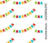 vector seamless pattern.... | Shutterstock .eps vector #1020806290