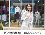 summer sunny lifestyle fashion... | Shutterstock . vector #1020827743