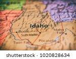 idaho state  usa | Shutterstock . vector #1020828634