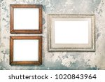 photo or picture frame blank... | Shutterstock . vector #1020843964