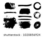 hand drawn scribble symbols... | Shutterstock .eps vector #1020856924