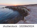 Sea Caves Of Cavo Greco Cape....