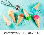 selection of various bright... | Shutterstock . vector #1020872188