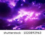space of night sky with cloud...   Shutterstock . vector #1020892963