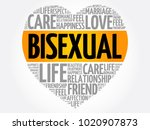 bisexual word cloud collage ... | Shutterstock .eps vector #1020907873