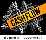 cash flow word cloud collage ...   Shutterstock .eps vector #1020909574