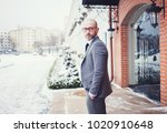 young guy with a beard and... | Shutterstock . vector #1020910648