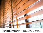 Pattern Of The Wooden Shutters...
