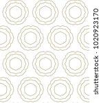 seamless ornamental vector...   Shutterstock .eps vector #1020923170