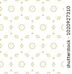seamless ornamental vector... | Shutterstock .eps vector #1020927310