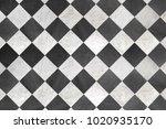 Black And White Checkered Floor ...