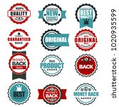 original quality guarantee... | Shutterstock .eps vector #1020935599