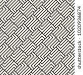 vector seamless lattice pattern.... | Shutterstock .eps vector #1020936874