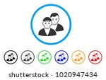 guys rounded icon. style is a... | Shutterstock .eps vector #1020947434