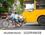 china town  yangon   oct 21 ...   Shutterstock . vector #1020948658