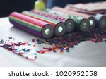 a kaleidoscope in the form of... | Shutterstock . vector #1020952558