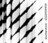 abstract grunge grid polka dot...   Shutterstock .eps vector #1020959959
