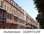 ornate ironwork on the... | Shutterstock . vector #1020971149