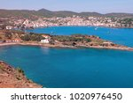 spain. catalonia. cadaques on... | Shutterstock . vector #1020976450