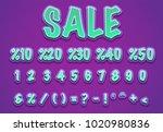 sale styles typography vector... | Shutterstock .eps vector #1020980836