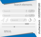 search elements for the web... | Shutterstock .eps vector #1020985180