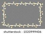 vector illustration of light... | Shutterstock .eps vector #1020999406