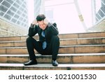 businessman disappointment of... | Shutterstock . vector #1021001530