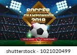 football 2018 world... | Shutterstock .eps vector #1021020499