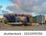 tel aviv  israel   april 08  ... | Shutterstock . vector #1021059250
