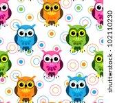 eps 10  seamless pattern of... | Shutterstock .eps vector #102110230